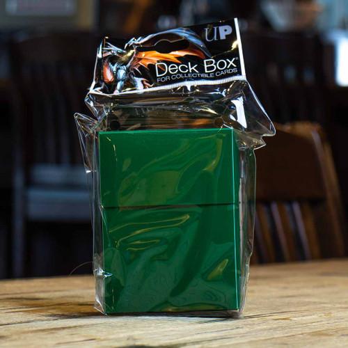 Ultra PRO 80+ Deck Box - Forest Green