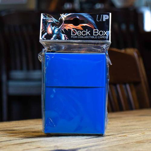 Ultra PRO 80+ Deck Box - Pacific Blue