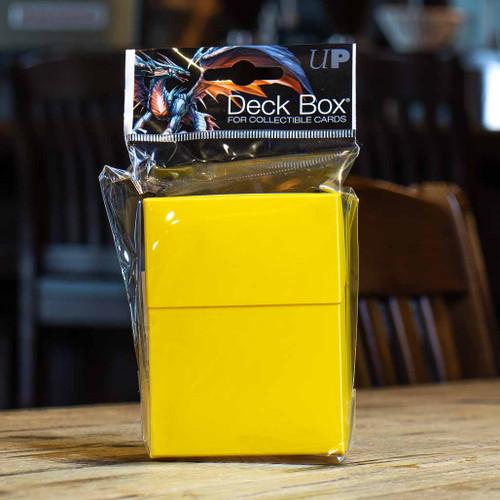 Ultra PRO 80+ Deck Box - Yellow