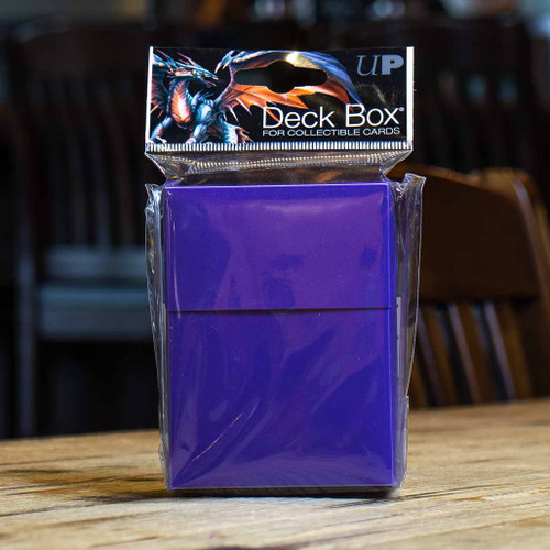 Ultra PRO 80+ Deck Box - Purple