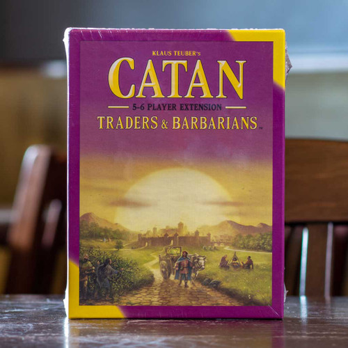 Catan - Traders & Barbarians 5-6 Player Extension