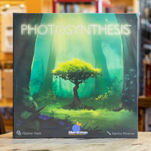 Mox Boarding House | front cover of Photosynthesis, a 2-4 player Strategy Game