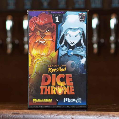 Dice Throne: Season One - Barbarian vs Moon Elf