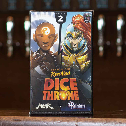 Dice Throne: Season One - Monk vs Paladin