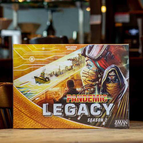 Pandemic Legacy: Season 2 - Yellow