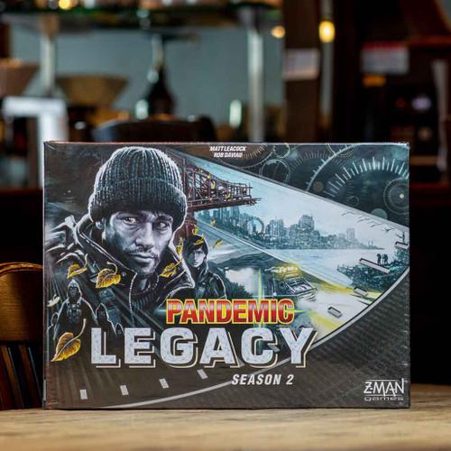 Pandemic Legacy: Season 2 - Black