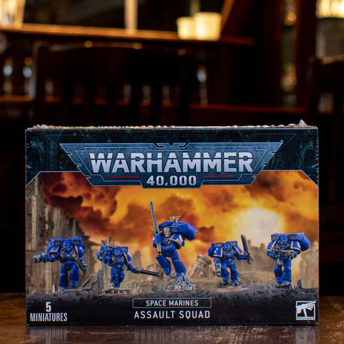 Warhammer 40K - Assault Squad