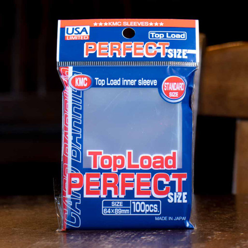 KMC Topload Perfect Fit Sleeves (100ct)