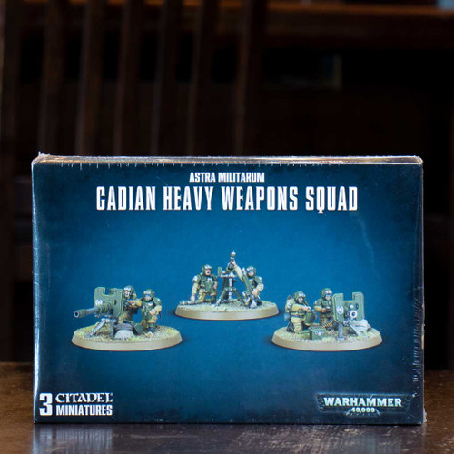 Warhammer 40K - Cadian Heavy Weapons Squad