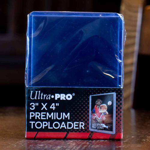 "Ultra PRO 3"" x 4"" Premium Toploaders (25ct)"