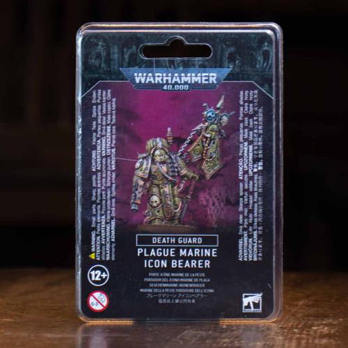 Warhammer 40K - Plague Marine Icon Bearer