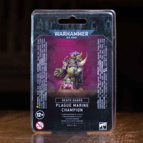 Warhammer 40K - Plague Marine Champion