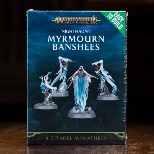Warhammer AoS - Myrmourn Banshees