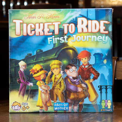 Ticket to Ride: First Journey (USA)