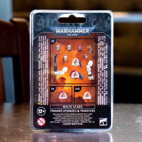 Warhammer 40K - White Scars Primaris Upgrades & Transfers