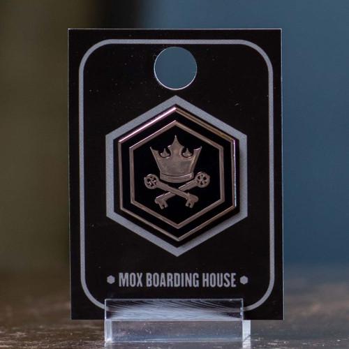 Crown & Keys Enamel Pin