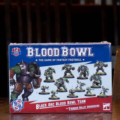 Blood Bowl - Black Orc Team, the Thunder Valley Greenskins
