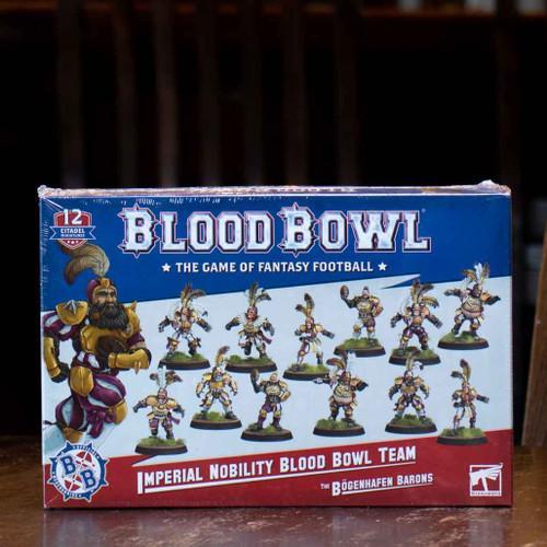 Blood Bowl - Imperial Nobility Team, the Bögenhafen Barons