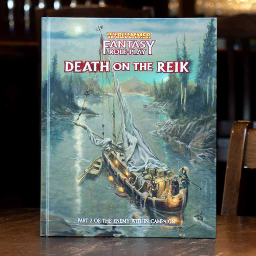 Warhammer Fantasy Roleplay - Enemy Within, Vol 2: Death on the Reik