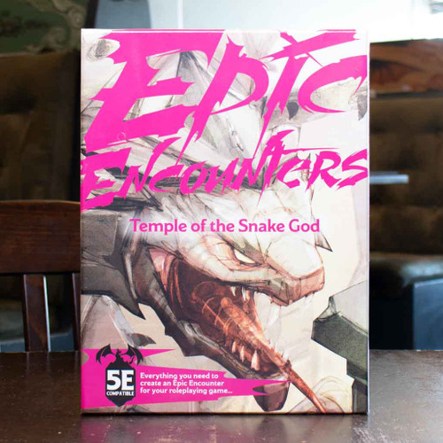 Epic Encounters: Temple of the Snake God