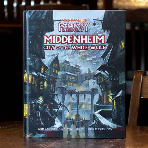Warhammer Fantasy Roleplay - Middenheim: City of the White Wolf