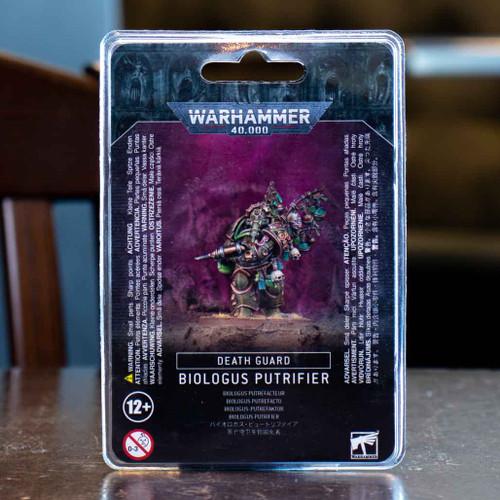 Warhammer 40K - Biologus Putrifier