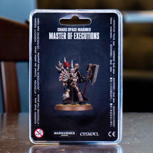 Warhammer 40K - Master of Executions