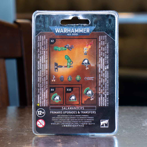 Warhammer 40K - Salamanders Primaris Upgrades & Transfers