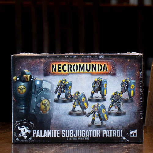 Necromunda - Palanite Subjugator Patrol