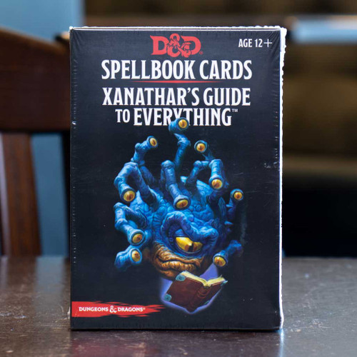 Dungeons & Dragons - Xanathar's Guide to Everything Spellbook Cards