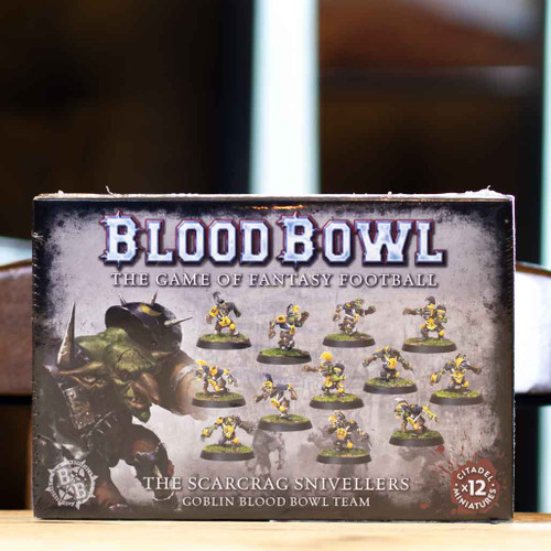 Blood Bowl - Goblin Team, the Scarcrag Snivellers
