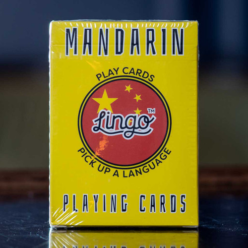 Mandarin Lingo Playing Cards