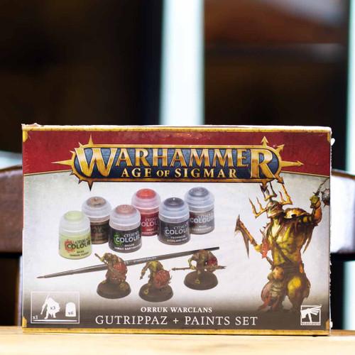 Warhammer AoS - Gutrippaz + Paints Set