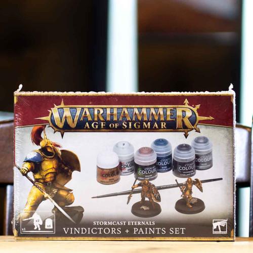Warhammer AoS - Vindictors + Paints Set