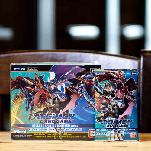 Digimon TCG - Release Special Booster Ver.1.5.