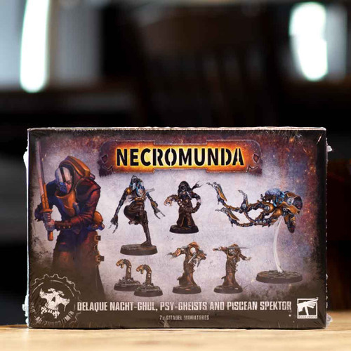 Necromunda - Delaque Nacht-Ghul, Psy-Gheists and Piscean Spektor