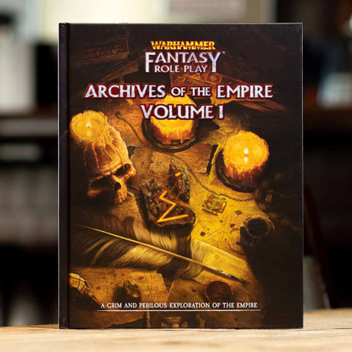 Warhammer Fantasy Roleplay - Archives of the Empire, Vol. 1