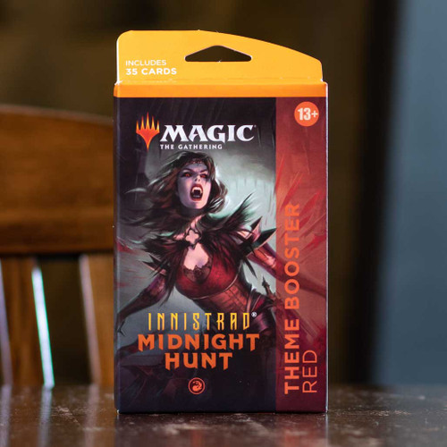 Innistrad: Midnight Hunt Theme Booster - Red