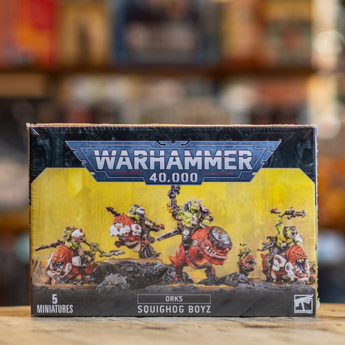 Warhammer 40K - Squighog Boyz