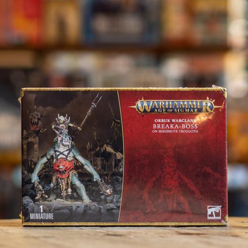 Warhammer AoS - Breaka-boss on Mirebrute Troggoth