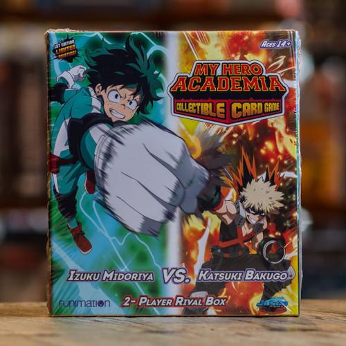My Hero Academia CCG - Izuku Midoriya vs. Katsuki Bakugo Rival Box