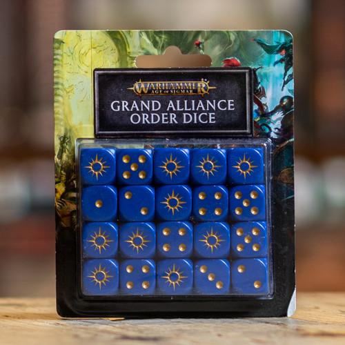 Warhammer AoS - Grand Alliance Order Dice