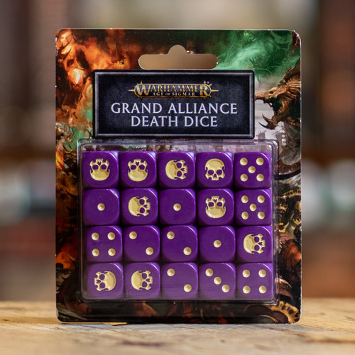 Warhammer AoS - Grand Alliance Death Dice