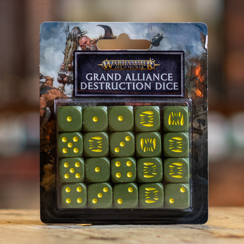 Warhammer AoS - Grand Alliance Destruction Dice
