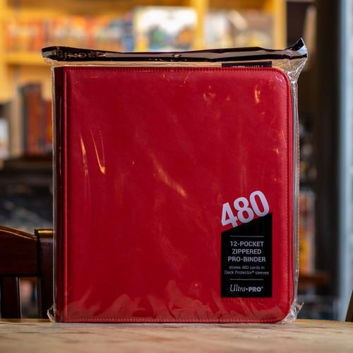 Ultra PRO Binder - Red Premium Pro (480ct)