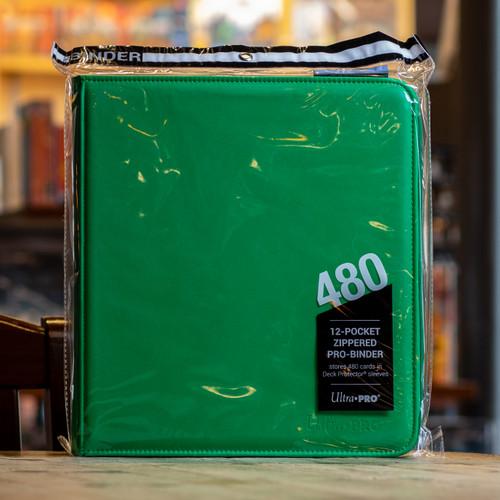 Ultra PRO Binder - Green Premium Pro (480ct)