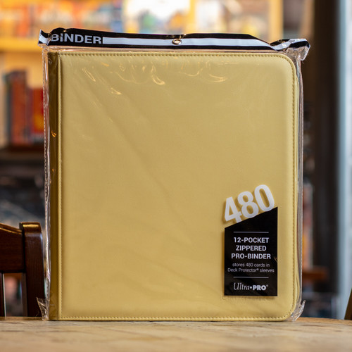 Ultra PRO Binder - Yellow Premium Pro (480ct)