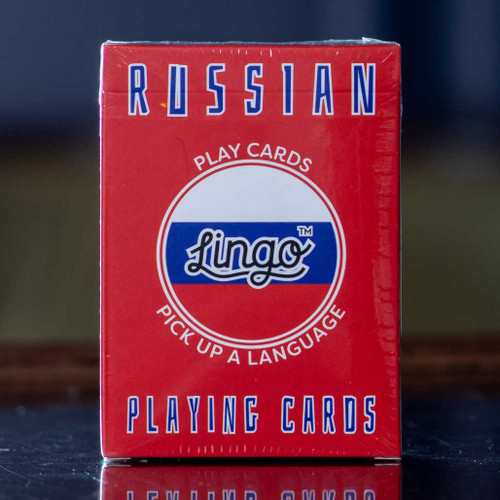 Russian Lingo Playing Cards