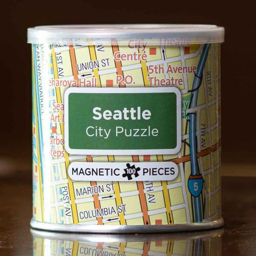 Seattle Magnetic City Puzzle