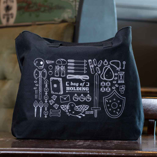Black Bag of Holding Tote by DBL Feature